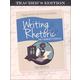 Writing & Rhetoric Book 7: Encomium & Vituperation Teacher's Edition