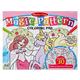 Magic-Pattern Coloring Pad Pink