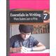 Essentials in Writing Level 7 Additional Workbook