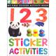 My First Sticker Activity Book: 123 Sticker Activities