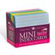 Index Cards - Mini Colored (3
