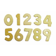 Wood Numbers Set 1