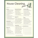 House Cleaning Pad - Write it Down Jumbo 50-page Notepad