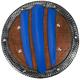 Whombatz Shield - Blue