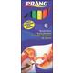 Brush Pens 6 Color Set - Classic Colors