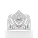 Ice Princess Soft Silver Crown