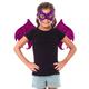 Pink/Purple Dragon Wing & Mask Set