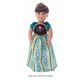 Scandinavian Princess Coronation Doll Dress
