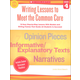 Writing Lessons to Meet the Common Core: Grade 4