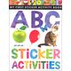 My First Sticker Activity Book: ABC Sticker Activities