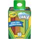 Crayola Washable Sidewalk Chalk - 16 count