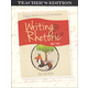 Writing & Rhetoric Book 1: Fable Teacher's Edition