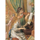 Two Young Girls at the Piano 500 Piece Puzzle