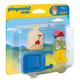 Worker With Wheelbarrow (Playmobil 1-2-3)
