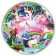 Unicorn Bliss 50 Jumbo Pieces Puzzle (Round Table Kids)