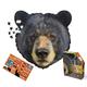 I AM Bear Shaped Jigsaw Puzzle - 550 pieces