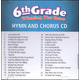 Winning the Race 6th Grade Hymn & Chorus CD