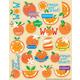 Orange Scented Stickers