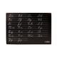 Chalkboard Cursive Practice Mat 12