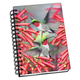Hummingbirds 3D Notebook 4