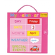 Magnetic My Calendar - Pink (Small)