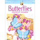 Butterflies Color by Number Book