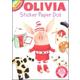 Olivia Sticker Paper Doll