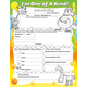 I'm One of a Kind! Fill Me In Activity Poster
