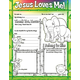 Jesus Loves Me! Fill Me In Activity Poster