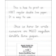 Regular Double Line Notebook Paper - 100 Sheets