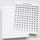Write-On/Wipe-Off Step Up to 120 Mat