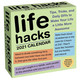 Life Hacks Day-to-Day 2021 Calendar