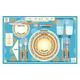 Table Setting & Etiquette Placemat