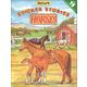 Horses Nature Sticker Stories