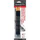 Peel & Sketch Charcoal 3 Pencil Set