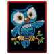 Sequin Art Red Ozzy Owl