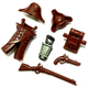 Colonial Soldier Army Brick Warriors Pack