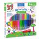 ThinStix Tempera Paint - Classic, Metalix, Neon (pack of 24)