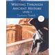Writing Through Ancient History Level 1 - Cursive