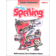 Reason for Spelling E Teacher Guidebook
