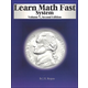 Learn Math Fast System Volume V