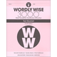 Wordly Wise 3000 4th Edition Test Book 8