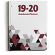 Academic Planner: Jigsaw Red 8 1/2 x 11 July 2019 - June 2020