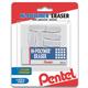 Hi-Polymer Eraser, White, Mixed Pack, 6 pack