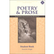 Poetry & Prose Book II: Elizabethan to the Neo-Classical Age Student Guide, Third Edition
