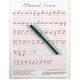 D'Nealian Cursive Write-on/Wipe-off Board