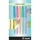 Frixion Light Pastel Erasable Highlighters, Chisel Tip, 5 pack