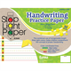 Stop Light Handwriting Practice Paper - 50 Sheet Note Pad