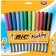 BIC Marking Permanent Marker Fashion Colors - Fine Point (12 pack)