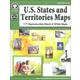 U.S. States and Territories Maps